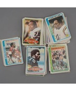 Vintage Lot of 160 + Football Cards Topps 1978 1980 - $29.69