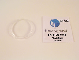 Watch Crystal For SEIKO 5106 7040 Presmatic Plexi-Glass New Spare Part C172G - $19.32