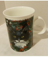 "Dunoon Fine Bone China Mug ""Christmas Cats"" Exclusive Design Made in Eng... - $2.98"