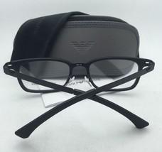 New Emporio Armani Eyeglasses EA 1032 3098 53-18 140 Matte Black Frames - $179.98