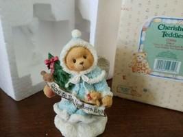 Cherished Teddies Christmas Grace Glory To The New Born King Angel #175994 - $6.88