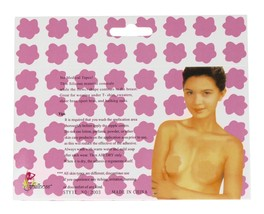 NEW WOMEN'S FULLNESS REUSABLE SELF ADHESIVE SILICONE NIPPLES COVER #2003 image 2