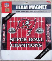 Tampa Bay Buccaneers Magnet Football Super Bowl Car NFL Vintage New - €22,15 EUR