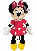 "MINNIE MOUSE Soft PLUSH DOLL Toy  15"" RED Great Gift Licensed DISNEY - $11.99"