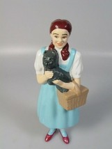 Wizard of oz Dorothy and toto doll plastic figure 1995 movie collectible... - $48.92