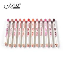 Menow 12pcs/set Waterproof Lipliner Pencil Lips Makeup Pen Pro Long-last... - $9.00