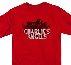 Charlie's Angels T-shirt distressed logo retro 1970s TV show graphic tee Sony255 image 2