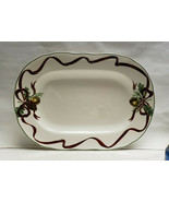 "NOBLE EXCELLENCE China - HOLLY BELLS Pattern - 14 1/4"" SERVING PLATTER - $99.95"