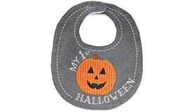 Mud Pie Baby Boy Jack-O-Lantern Pumpkin My First Halloween Bib 10280065H - $16.65