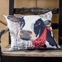 Indoor/Outdoor Animal Pillow Cow - $24.27