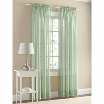 """Mainstays Marjorie Sheer Voile Curtain Panel Select Color 59"""" x 84"""" - $12.84+"""