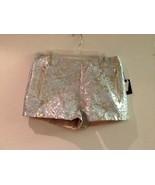 Women's Forever 21 Metallic Brocade Pattern Shorts Size 29 - $21.95