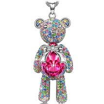 "Necklace, ♥Valentine's Day Gift♥ with Exquisite Package J.NINA ""Bear Pri... - $59.95"