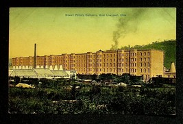 Vintage 1908 Photo Postcard Newell Pottery Company East Liverpool Ohio - $7.55