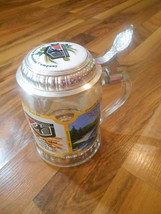 Old Vintage 1985 Lidded Glass Beer Stein G. Heileman Brewing Co. 7th Edi... - $9.99