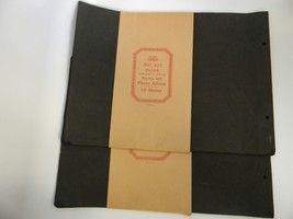 Lot of 2 Vintage Mid-Century No 612 Photo Album Filler about 36 Sheets USA - $39.99
