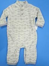 Old Navy long sleeve print fleece pant set SIZE 6-12 MONTHS BRAND NEW! - $8.86