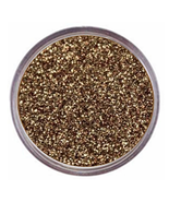 Sparkly Brown Gold Eyeshadow Bare Glitter Mineral Eye Makeup Natural Vegan - $4.37