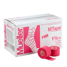 Mueller M Tape Color 1.5'' x 10 yard 32 Rolls/Case-Pink - $81.08