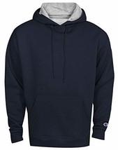 Champion Men's Powerblend Fleece Pullover Hoodie (X-Large Navy) - $32.00