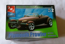 AMT/Ertl Plymouth Prowler with Trailer 1:25 Scale Model - $23.16