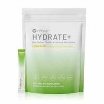 It Works! Hydrate+ Lemon Burst Electrolyte Supplement Powder 30 Packets New - $32.69