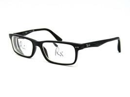 Ray Ban RB 5277 Men's Eyeglasses Frame, 2000 Black Acetate. 54-17-140 #43D - $49.45