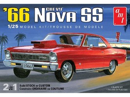 AMT 1:25 Scale 1966 Chevy Nova SS - 1198 - $33.20