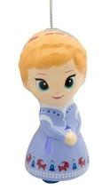Hallmark Disney Frozen Anna Decoupage Natale Infrangibile Ornamento Nuovo W Tag image 2