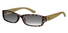 EBE Bifocal Sunglasses Womens Tortoise Bamboo Wood Temples Anti Glare Quality - $66.99