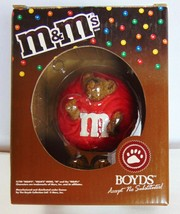 M & M Mars Boyds - Collectible Resin Figurine - RED Peeker 2005 - New - $17.14