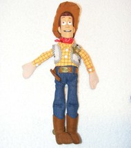 "DISNEY PIXAR TOY STORY ""WOODY"" PLUSH 12"" DOLL GUC - $14.99"