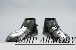 NauticalMart Medieval Sabatons Steel Armor Shoes - $199.00