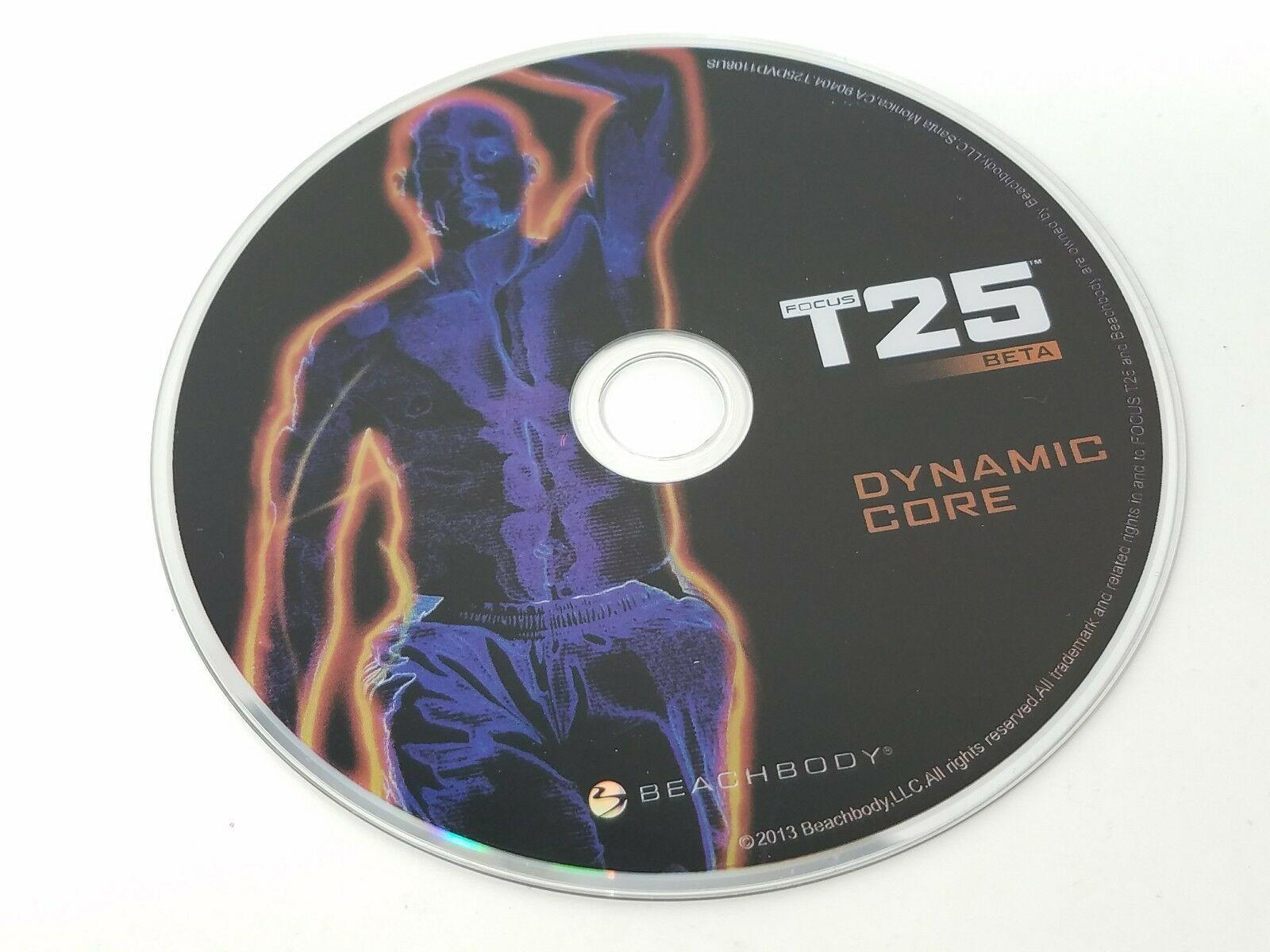 BeachBody Focus T25 Beta Dynamic Core Replacement Disc DVD Beach Body - G