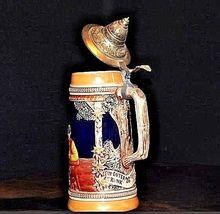 German Stein with Lid 1802  Hand Made 11 Ein Guter Trunk - AA18 - 1036 Vintage image 4