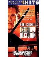 Executive Decision (VHS, 1997) Free USA Shipping - $6.58