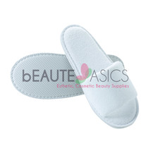 3 Pairs Fine Cotton Terry Spa Slippers 5mm EVA Bottom Sole - #AS132x3 - $15.98
