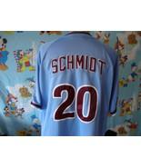Philadelphia Phillies Mike Schmidt Nike throwback Jersey L large - $49.49