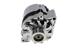 A-Team Performance GM CS130 Style 160 Amp Alternator with Serpentine Pulley image 2
