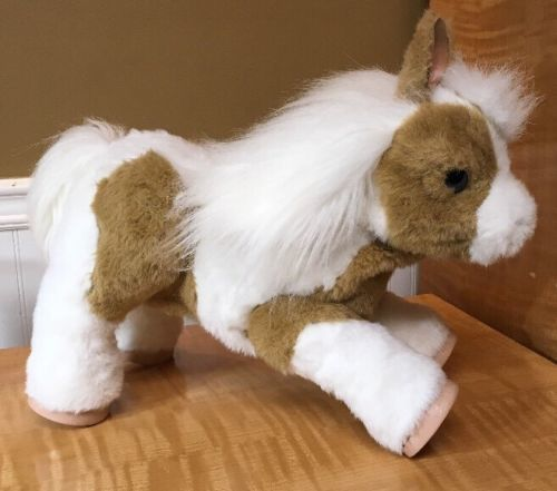 Fur Real Friends Baby Butterscotch My Magical Show Pony Interactive  Hasbro EUC