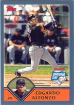 Edgardo Alfonzo ~ 2003 Topps Opening Day #44 ~ Mets - $0.20