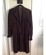 Max Studio Special Edition Suede Leather Duster Coat ~ Jacket ~ Bohemian... - $42.06