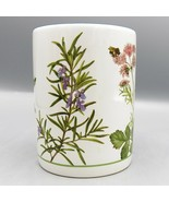 Marjolein Bastin Utensil Crock Herb Garden Bees Wildflower Botanical Kit... - $20.92
