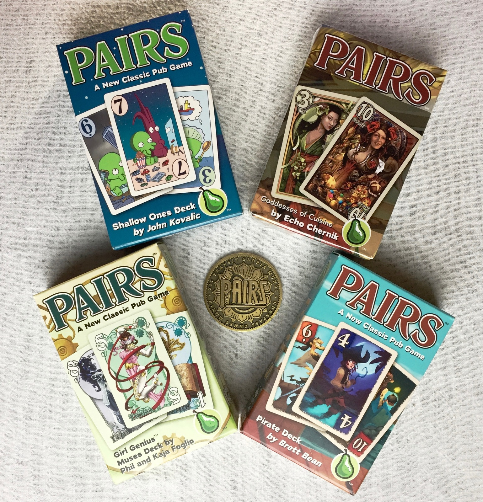 Pairs artists gift pack