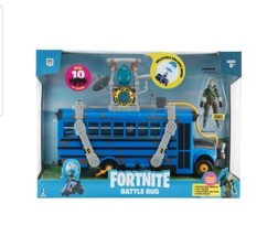Fortnite Battle Bus Deluxe Vehicle Pack NEW 2020 Toy WITH Figure - $76.23