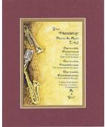 Touching and Heartfelt Poem for Special Friends - Your Friendship Means ... - $15.79