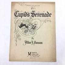 Vintage Cupids Serenade Sheet Music Allan Sanson Art Nouveau Cherub Cover - $19.75
