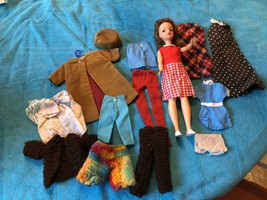 Vintage Ideal 1964 Original Tammy Doll With Original Labeled Clothes, Ht F - $59.39