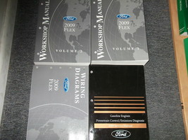 2009 Ford FLEX Service Shop Repair Manual Set W EWD + PCED OEM FACTORY - $188.05