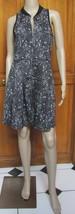 Romeo & Juliet Couture Black Cream Sleeveless Zipper Front Dress NWT Sz ... - $22.97